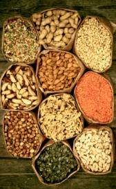 Vitamina E en alimentos